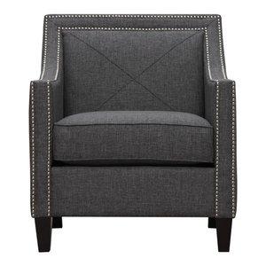 Asheville Linen Chair - Gray