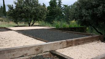 Jardín Privado en Torrelodones.