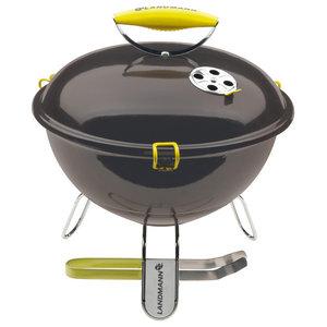 Landmann Charcoal Barbecue Piccolino, Anthracite, 34 cm