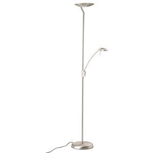 Aria Floor Lamp, LED, Silver