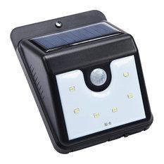 LED Solar-Powered Sensor Security Light