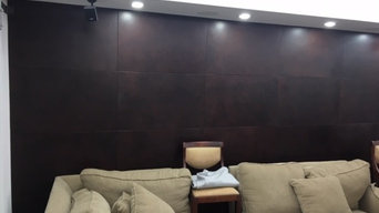 Upholstered Leather Walls