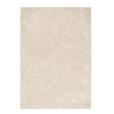 "Palmetto Living by Orian Next Generation Solid Area Rug, Ivory, 5'3""x7'6"""