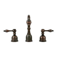 Widespread Bathroom Faucet, Oil Rubbed Bronze