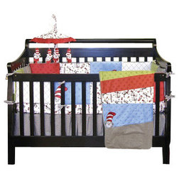baby bedding dr seuss cat in the hat crib bedding 4piece