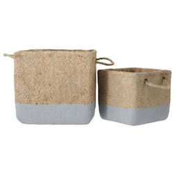 Beach Style Baskets by Urban Trends Collection