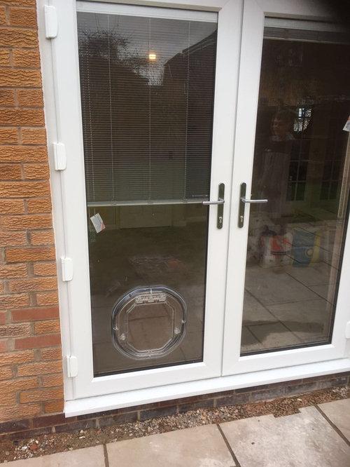Upvc French Doors: Upvc French Doors Integral Blinds on