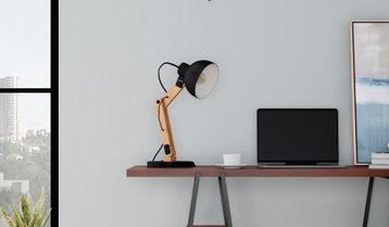 Desk Lamps and Pendants