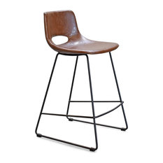 Thompson Counter Stools Set Of 2 Brown