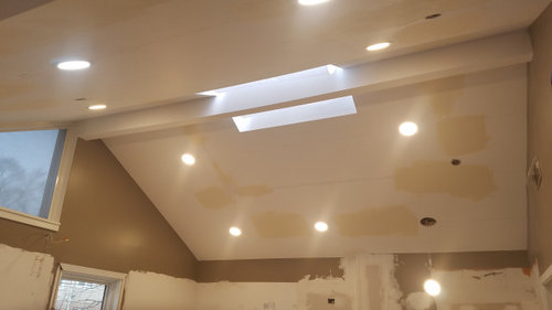 Recessed Lighting In Kitchen On Cathedral Ceiling Gimbals Vs Regular