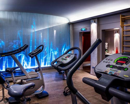 salle de sport moderne france photos et id es d co de salles de sport. Black Bedroom Furniture Sets. Home Design Ideas