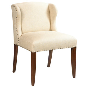 Uttermost Filon Wing Chair - Traditional - Armchairs And Accent