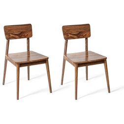 Midcentury Dining Chairs by Houzz