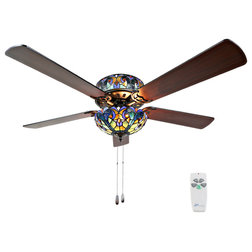 Victorian Ceiling Fans by River of Goods