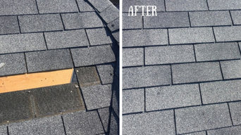 Before and After Roofing Repair in Lockport, NY