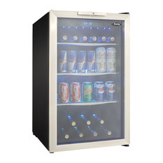 Danby 3.9 Cuft. Beverage Center,Holds 7 Bottles & 124 Cans Dbc039A1Bdb