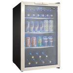 Danby - Danby 3.9 Cuft. Beverage Center,Holds 7 Bottles & 124 Cans Dbc039A1Bdb - Danby 3.9 CuFt. Beverage Center,Holds 7 Bottles & 124 Cans,Free Standing DBC039A1BDB