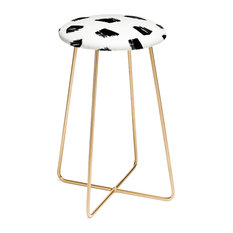 Kelly Haines Messy Dots Counter Stool