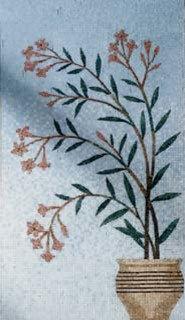 Flower Pot Wall Mosaic - Tile