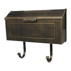 Horizon Horizontal Mailbox, Bronze