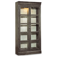Hooker Furniture 5700-75902 40 Inch Wide Solid Hardwood Display Cabinet from th