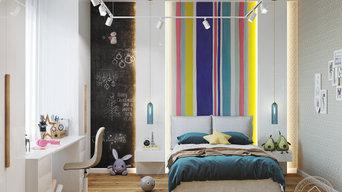 Дизайн детской комнаты г. Тула