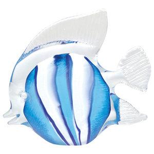 Clara Clownfish Sculpture, Blue, Large