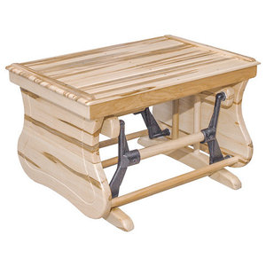 Enjoyable Oak Open Side Gliding Ottoman Foot Stool Michaels Cherry Frankydiablos Diy Chair Ideas Frankydiabloscom