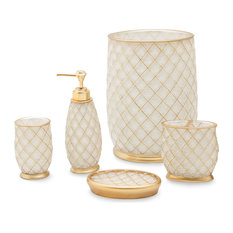 Michael Amini   Ingenue 5 Piece Bath Accessory Set   Bathroom Accessory Sets