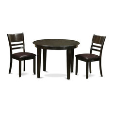 3-Piece Kitchen Table Set Small Table And 2 Kitchen Chairs