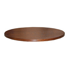 "Amish Made Oak 20"" Round Tabletop Lazy Susan, 20"" Michaels Cherry Stain"