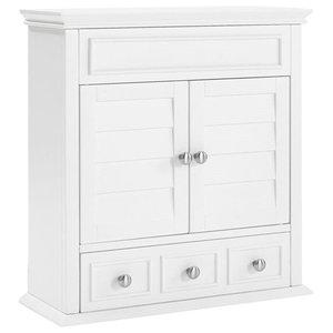 Pemberly Row Medicine Cabinet White