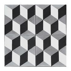 Harlequin Concrete Tile, Sample