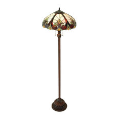 Liaison 2-Light Victorian Floor Lamp