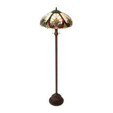 Liaison 2-Light Victorian Floor Lamp
