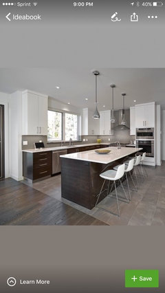 Mixing Porcelain Wood Tile With Hardwood
