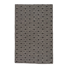 Jaipur Living Ark Indoor Outdoor Geometric Black Beige Area Rug