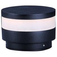 "ET2 Lighting Alumilux LED Pathway Light, Black, 4""x5.75"""