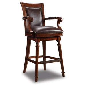 Awesome Douglas Wood Counter Stool Traditional Bar Stools And Machost Co Dining Chair Design Ideas Machostcouk