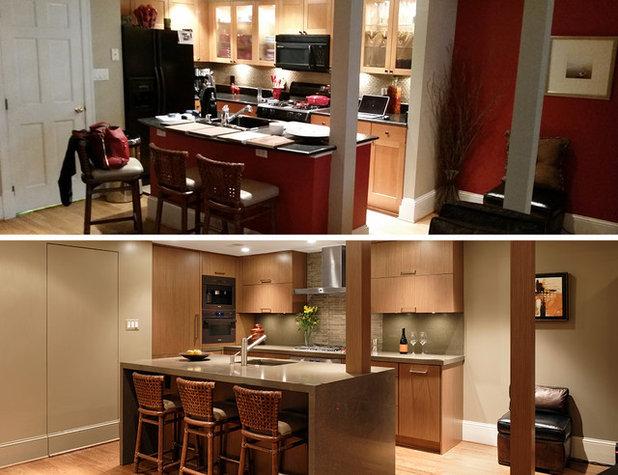 Condo kitchen collage