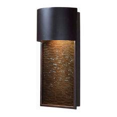 -Light fall 1-Light Dark Sky Lantern, Oil Rubbed Bronze Finish