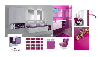 Nuevos colores para el baño