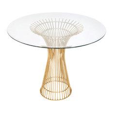 Putnam Side Table Gold Leaf 30?