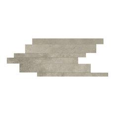 Maps Porcelain Mosaic Tile, Matte Beige 210x400, 15 Boxes