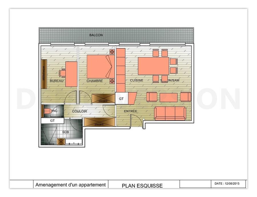 amenagement d'un appartement Paris 75011