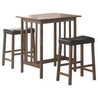 Emma Mason Signature Elaina 3-Piece Bar Table and Stool Set COA0134