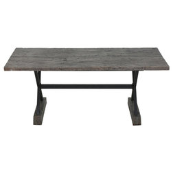 Industrial Outdoor Dining Tables by GDFStudio