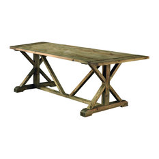 Pino Aged Pine Dining Table, Large