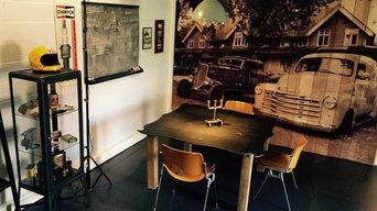Ambiance vintage pour nos bureaux