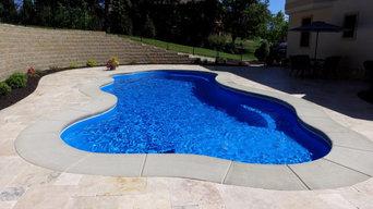 Wellspring Fiberglass Pool - Greendale, Indiana